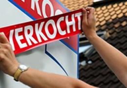 Woningverkoop bijna 20 procent gestegen.